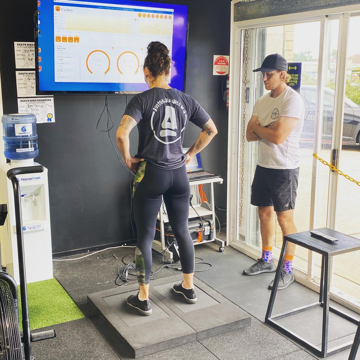 Fighting Fit Client using VALD ForceDecks