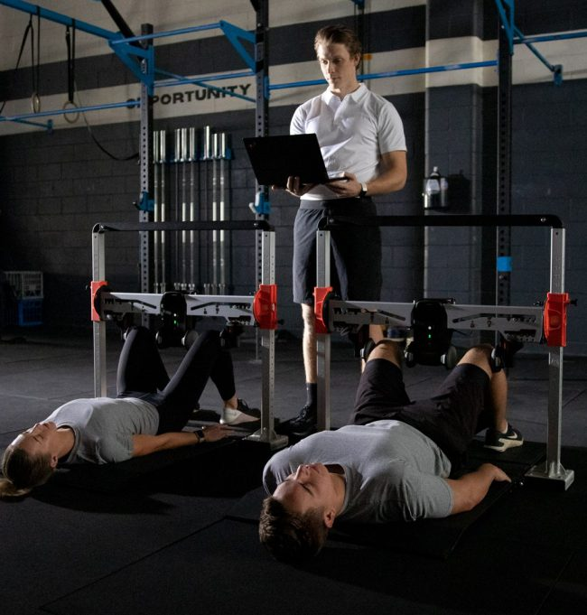 VALD Tactical ForceFrame Strength Testing System